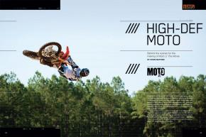 Producer/director Taylor Congdon has revitalized motocross films with his Moto series. Here's a look behind the scenes of the spectacular third installment. Page 150.