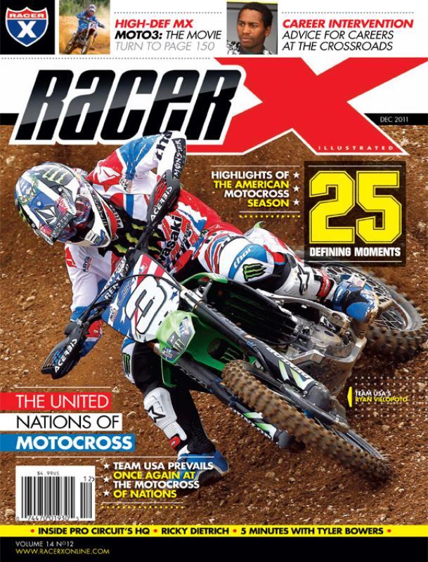 The December 2011 Issue - Racer X Illustrated Motocross Magazine