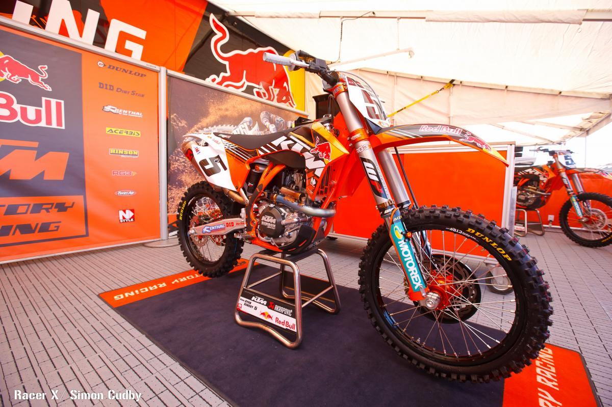 Ryan Dungey's KTM