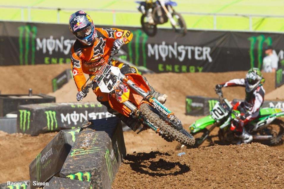 Practice Report:  Monster Energy Cup
