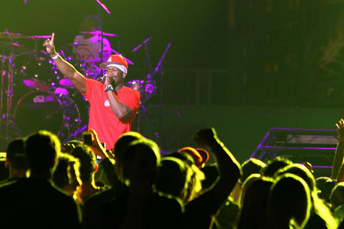 50 Cent concert