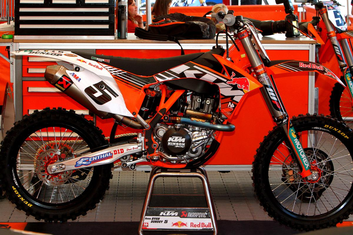 Ryan Dungey's new KTM
