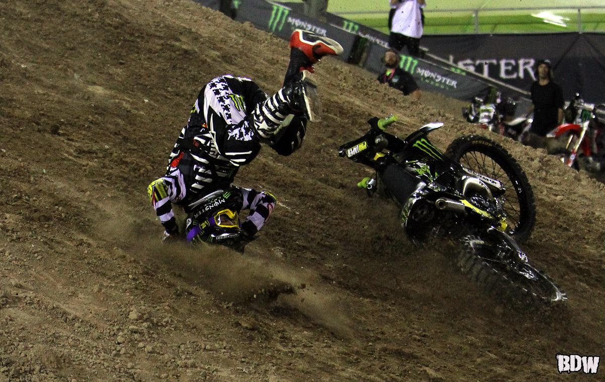 Kyle Loza crash sequence