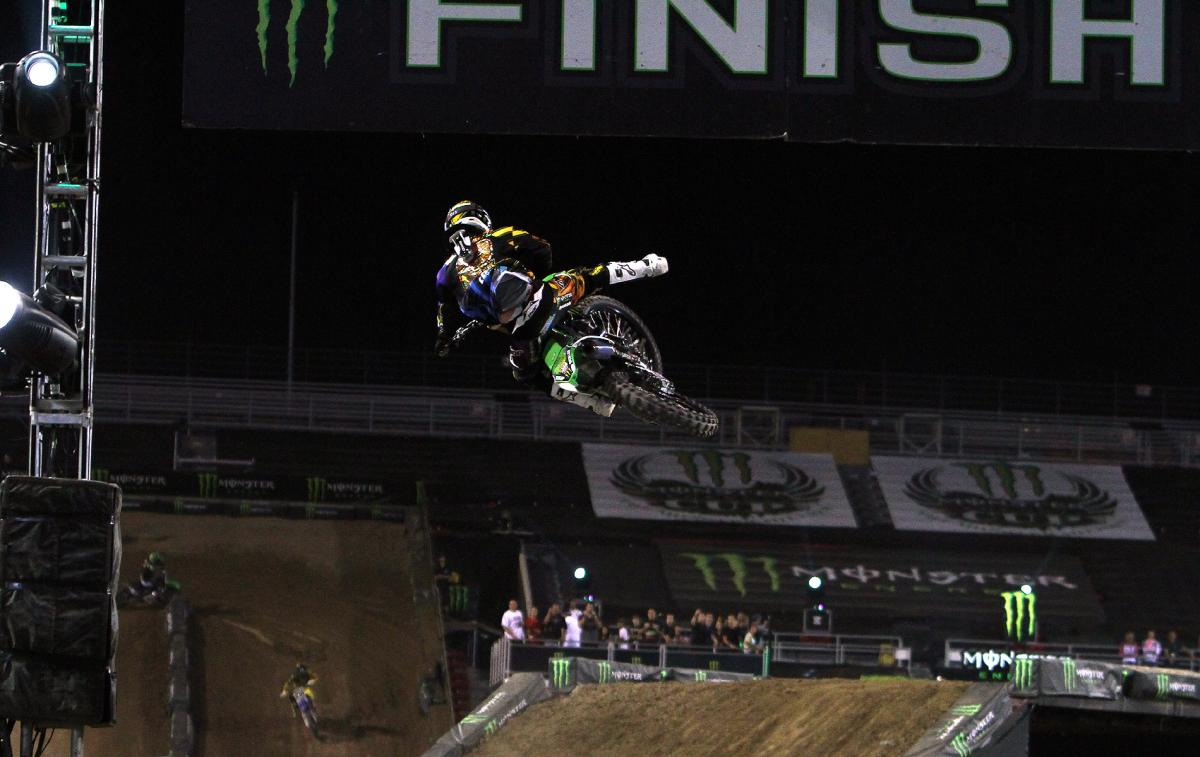 Villopoto with the clean sweep