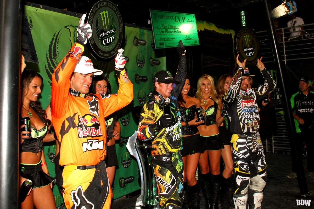 Dungey, Villopoto, and Metcalfe