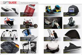 Need some ideas for what to get the moto head in your family for Christmas? Look no further. The Racer X Holiday Gift Guide has the answers. Page 194.