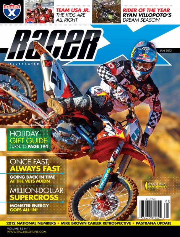 The January 2012 Issue - Racer X Illustrated Supercross Magazine
