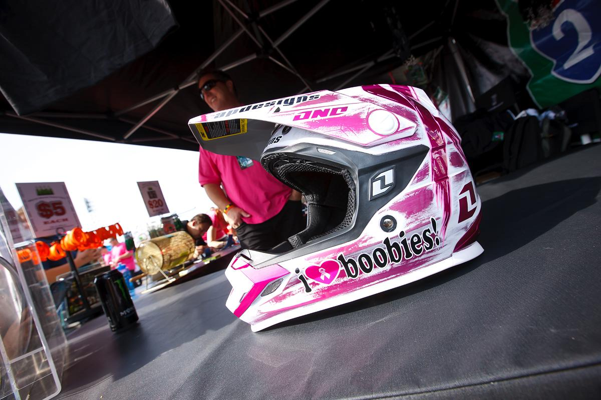 ONE Industries designed a cool helmet for A2