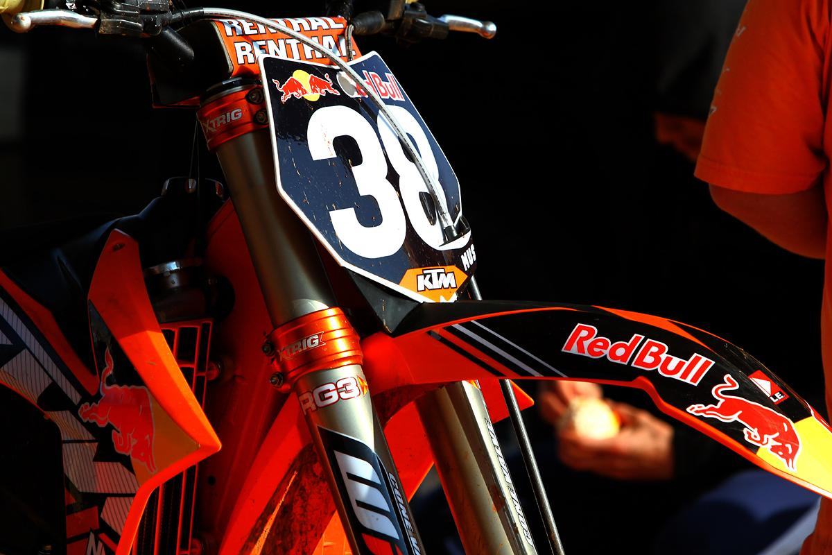 Marvin Musquin's bike