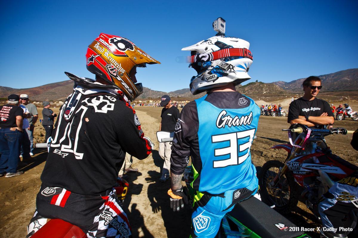 Shaun Palmer and Josh Grant