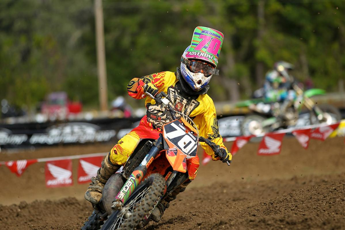 Timmy Badour doing his best Blake Baggett impersonation.