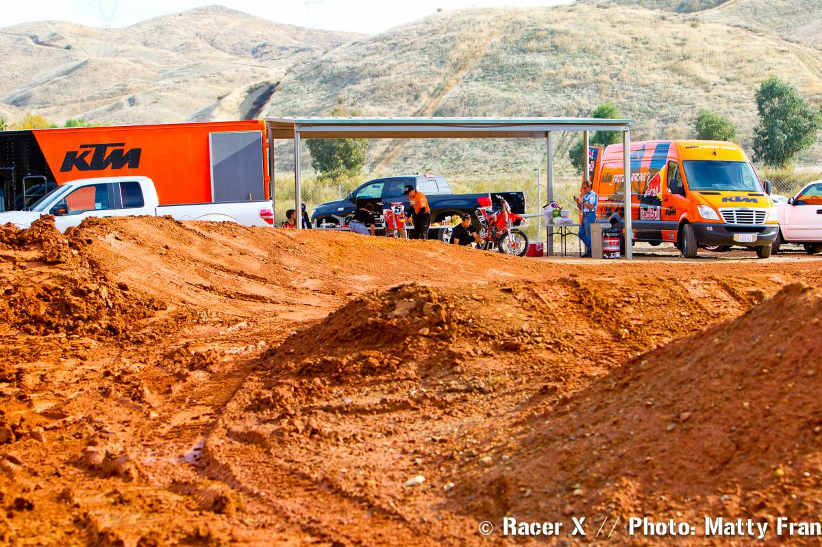 KTM test track