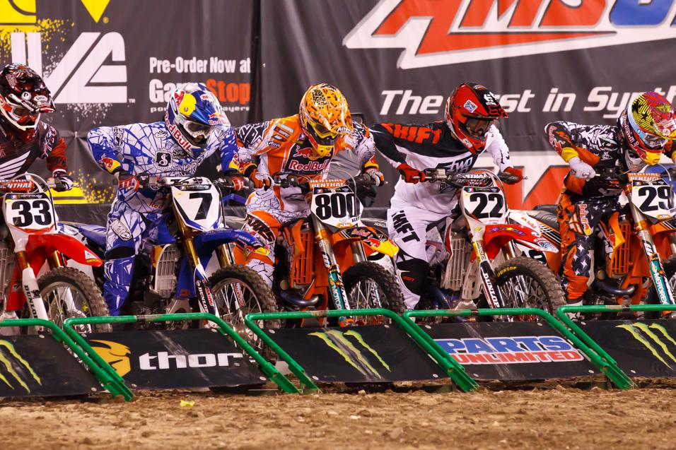Bench Racing Ammo:  Supercross Depth