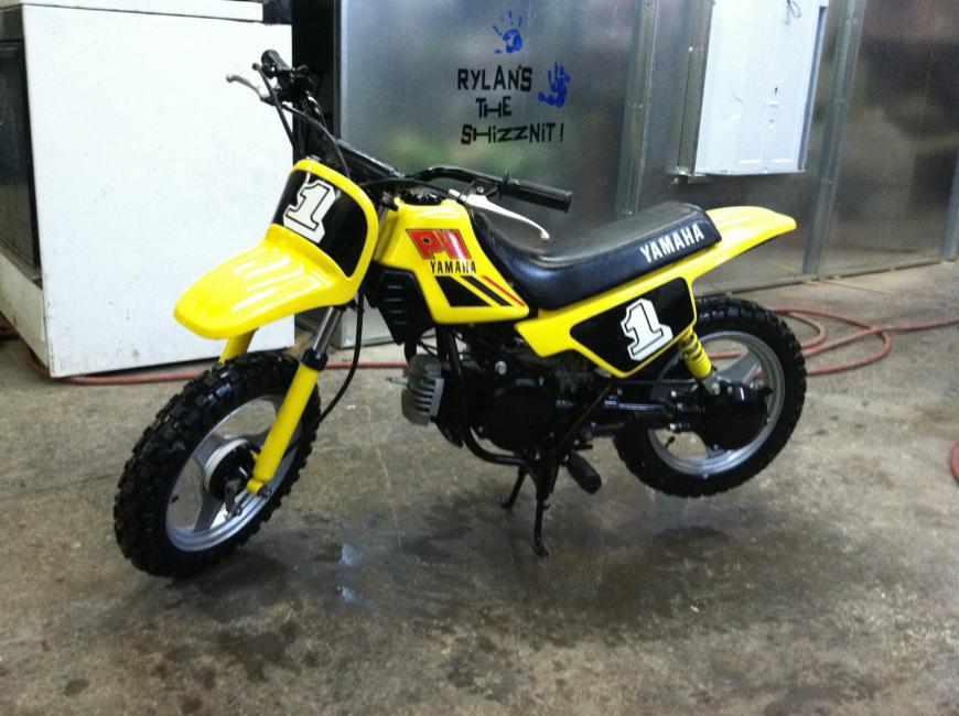yamaha pw50. this weeks collection comes to us from joshua mccollum in pa. yamaha pw50