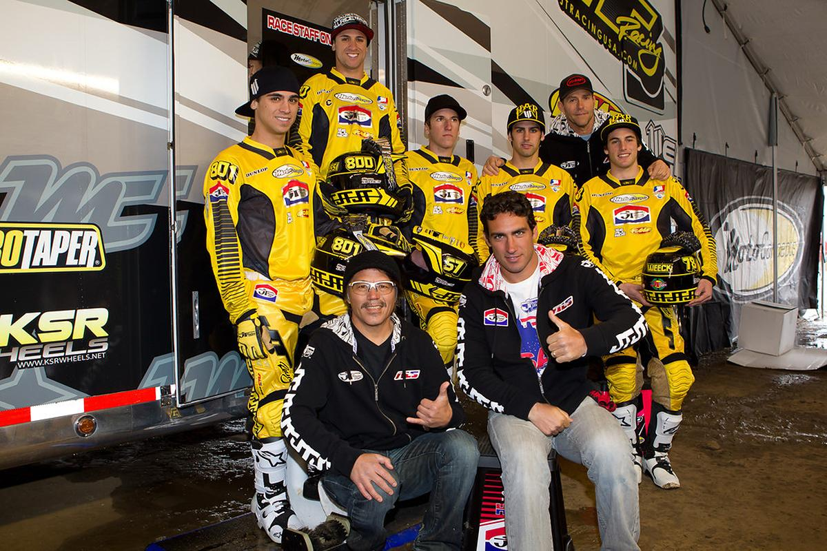 The team with JT Racing