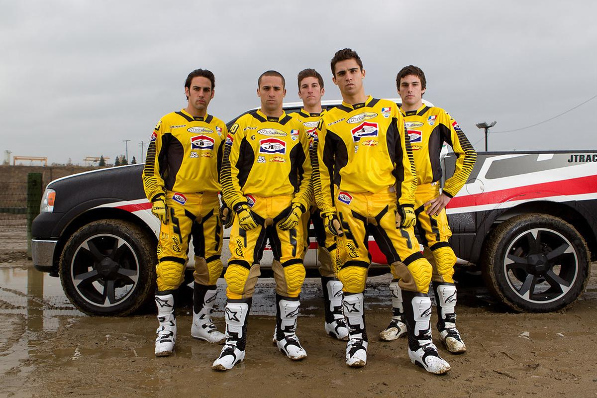 The 2012 MotoConcepts team