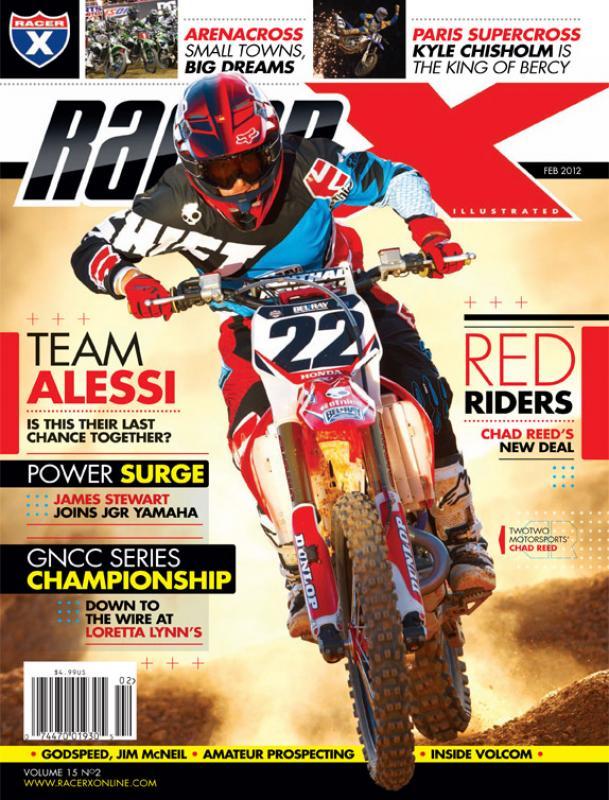 The February 2012 Issue - Racer X Illustrated Supercross Magazine