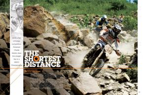 A product of the GNCC youth system, Charlie Mullins topped a field of determined foreign racers, becoming the first American to win the series since 2004. Page 150.