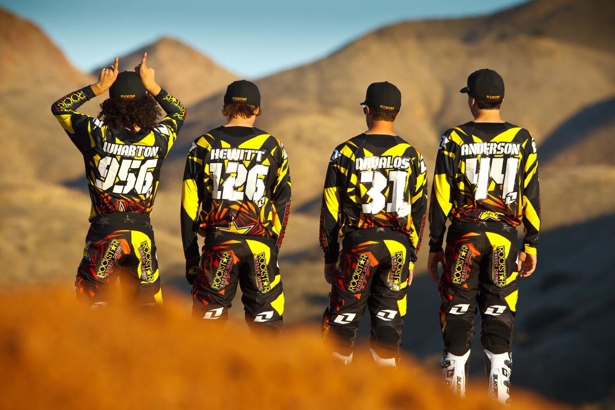 The 2012 Rockstar Energy Team