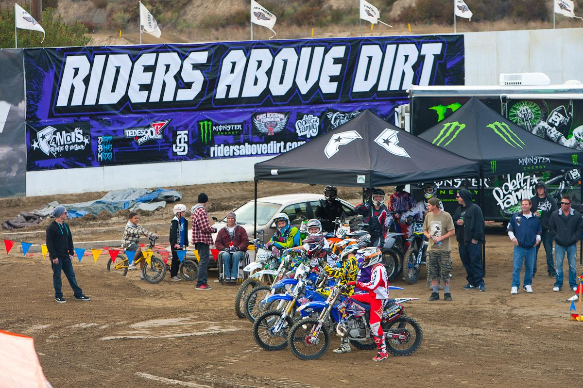 Riders Above Dirt