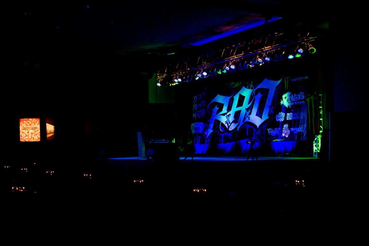 R.A.D. Award show stage