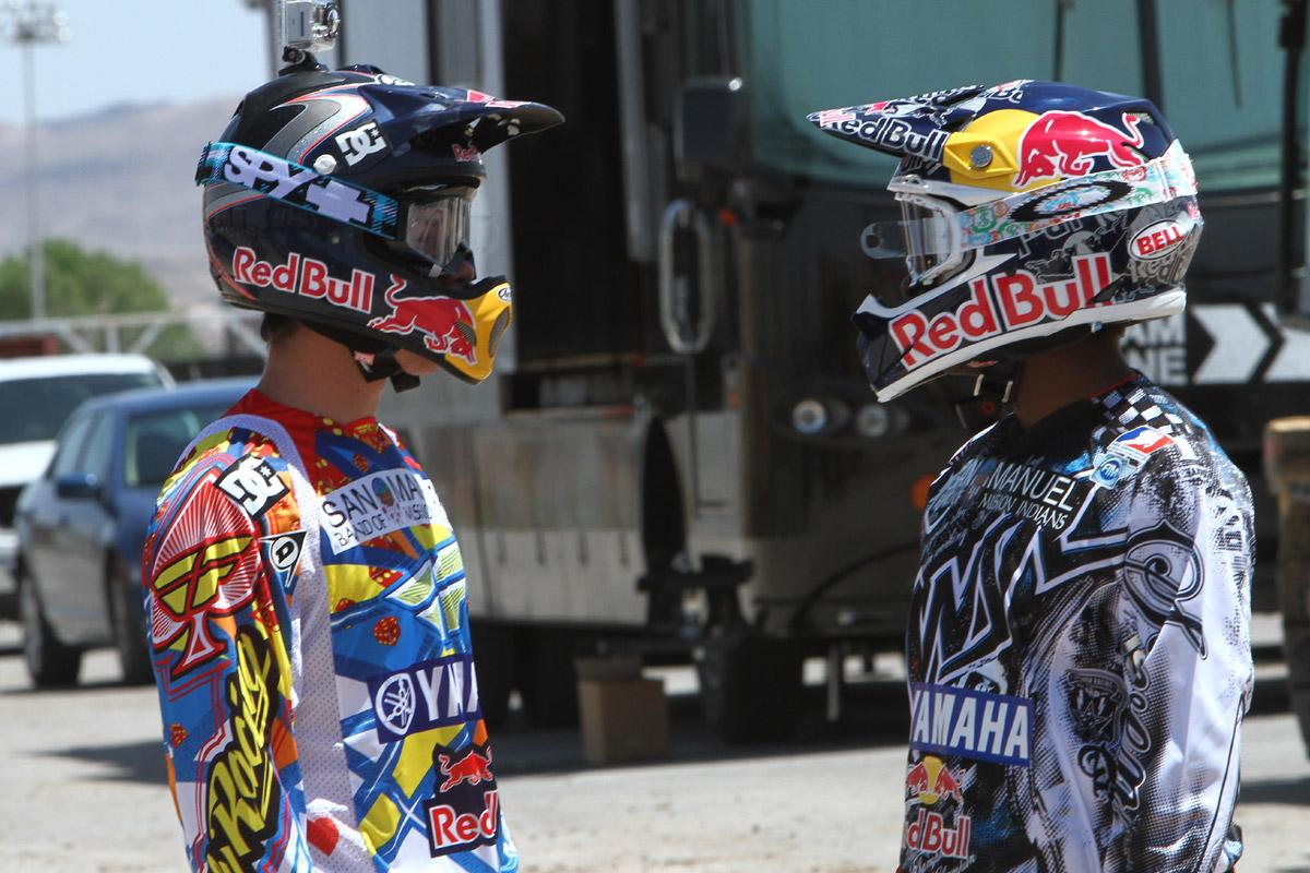 Kyle Regal and James Stewart // Las Vegas SX
