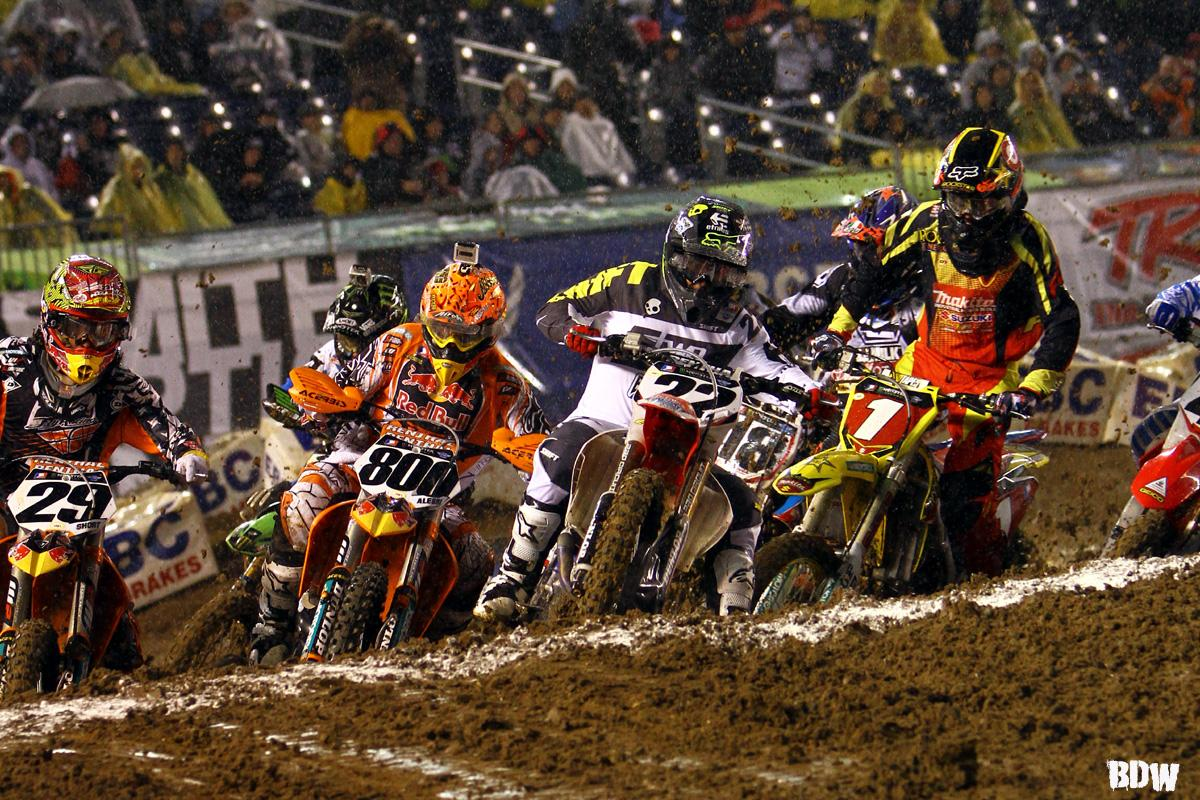 Supercross Class Start // San Diego