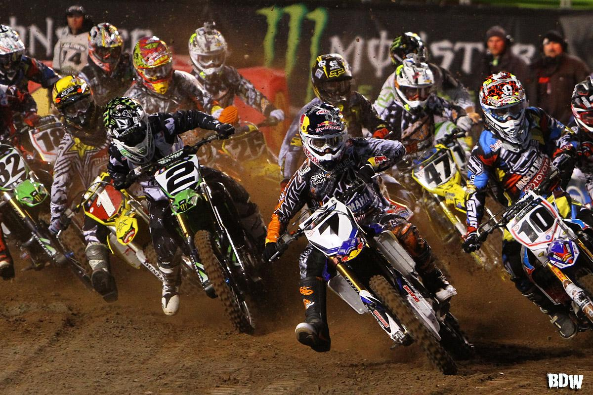 Supercross Class Start // Salt Lake City