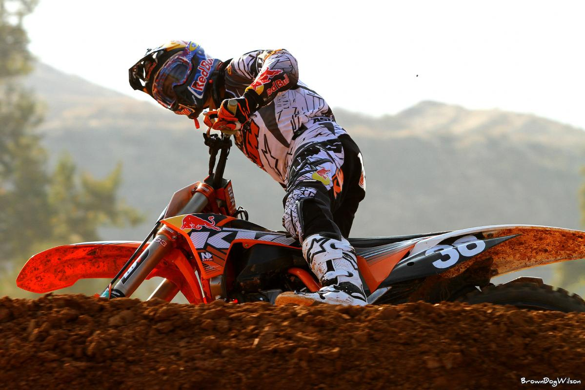 Marvin Musquin // KTM Test Track