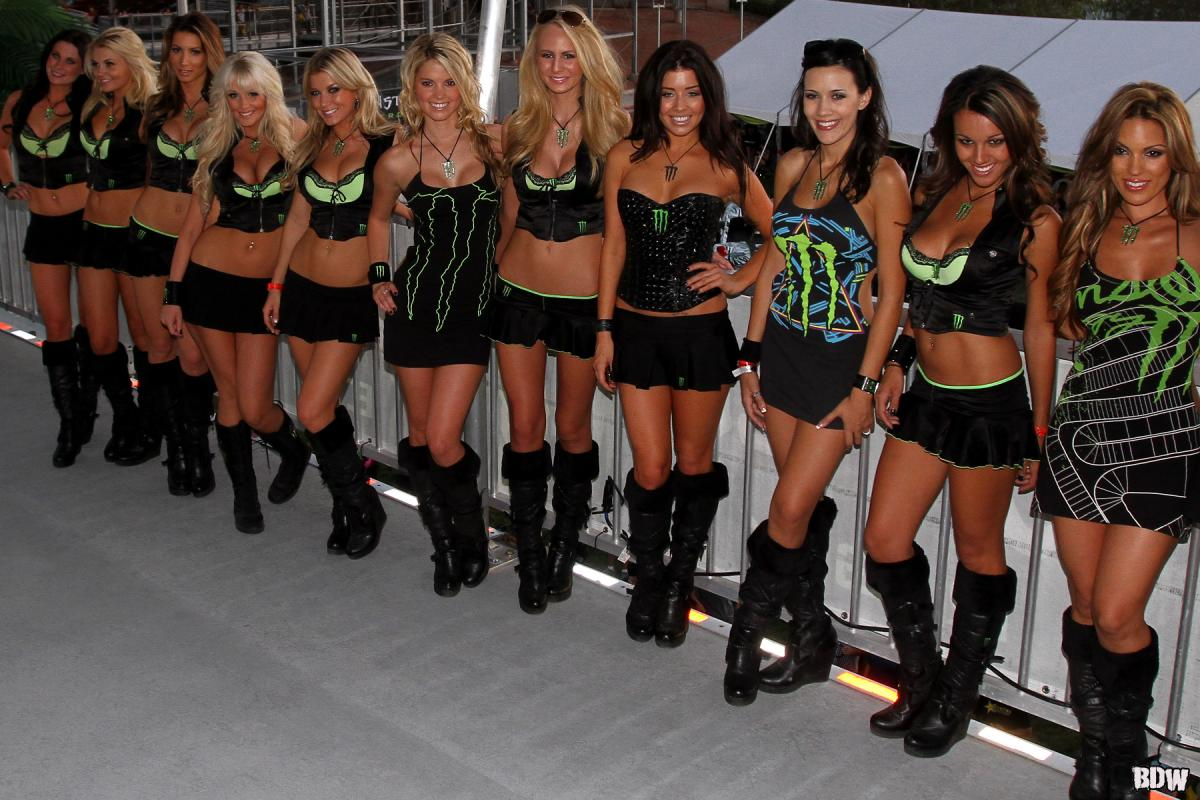 Monster Girls // Monster Energy Cup