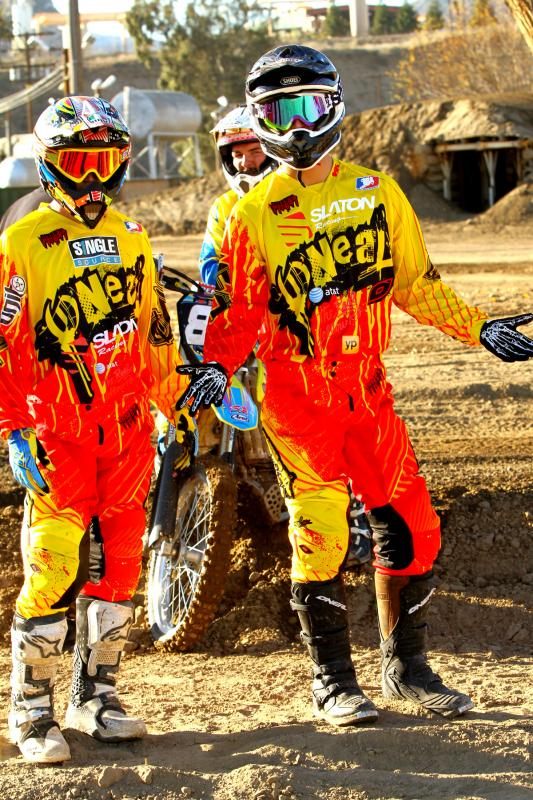 The 2012 Slaton Racing Team