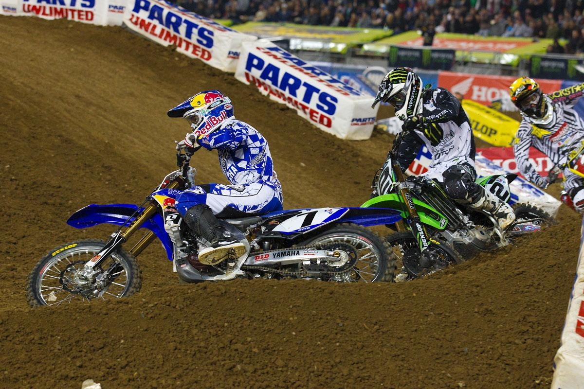 James Stewart and Ryan Villopoto // Los Angeles