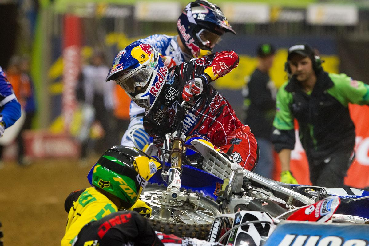 Chad Reed and James Stewart // Houston