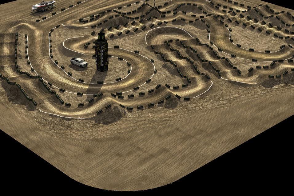 Animated Track Map:  Anaheim 1