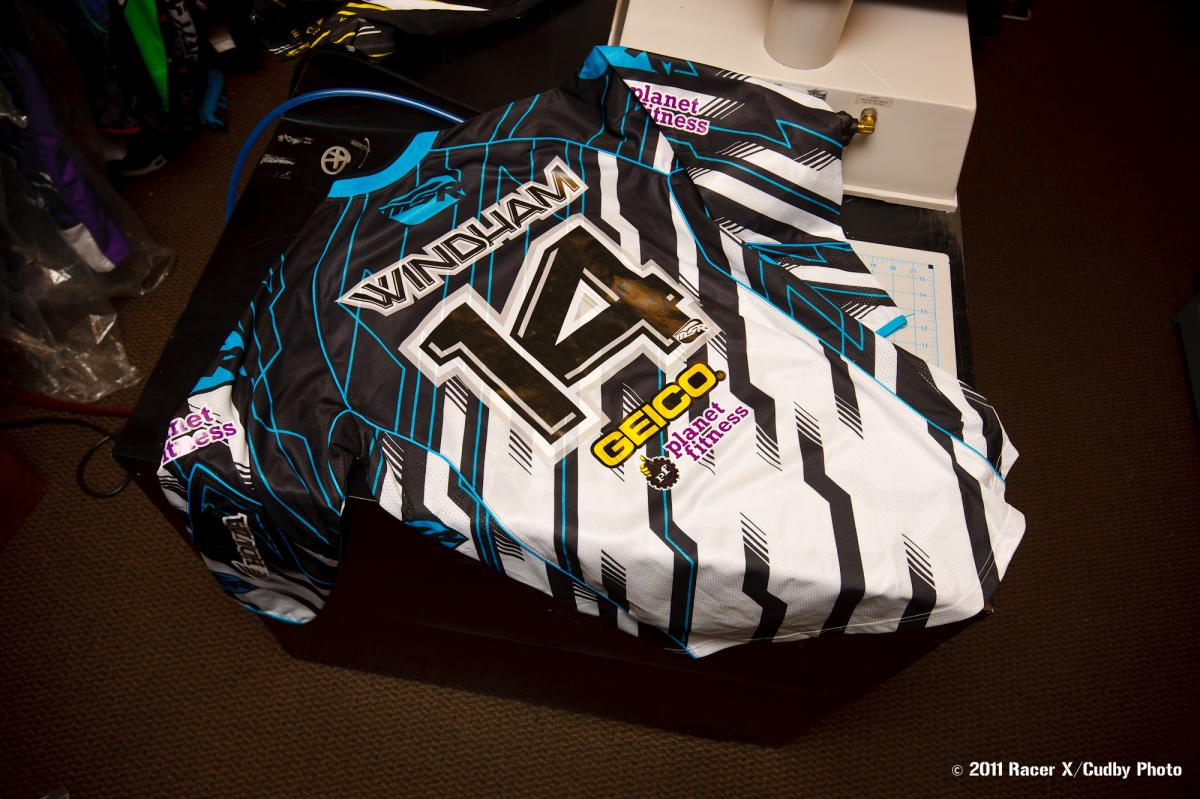Kevin Windham's jersey