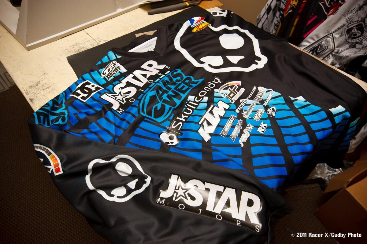 Malcolm Stewart's jersey