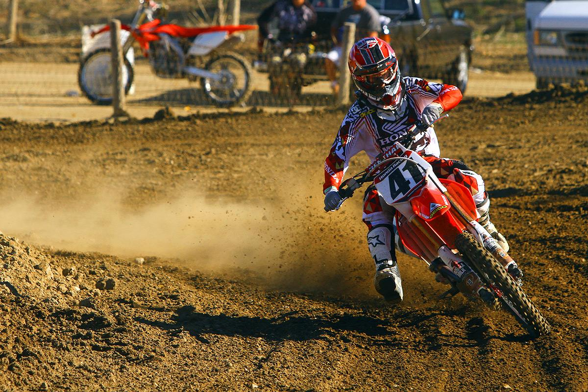 Trey Canard is back in action. Will he be racing A1?