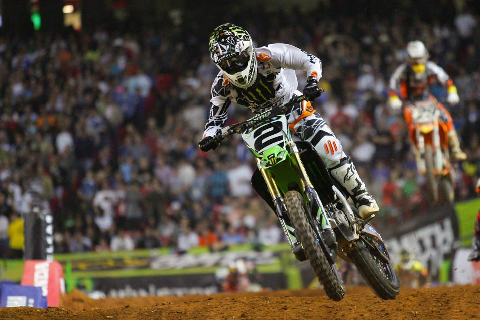 <strong>Going for the W:</strong><br /> Ryan Villopoto
