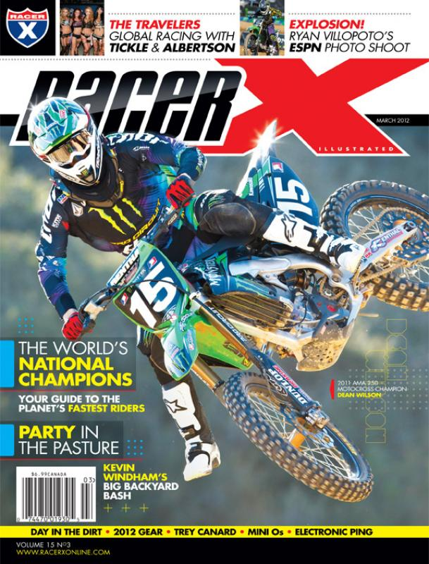 The March 2012 Issue - Racer X Illustrated Supercross Magazine