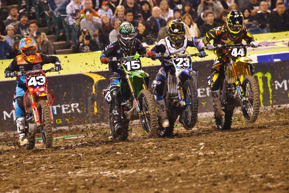 Sign of the  Lap Times: Anaheim 1