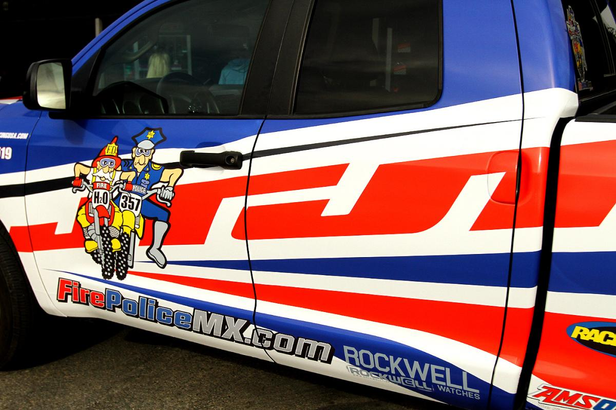 The Rockwell FirePoliceMX.com truck