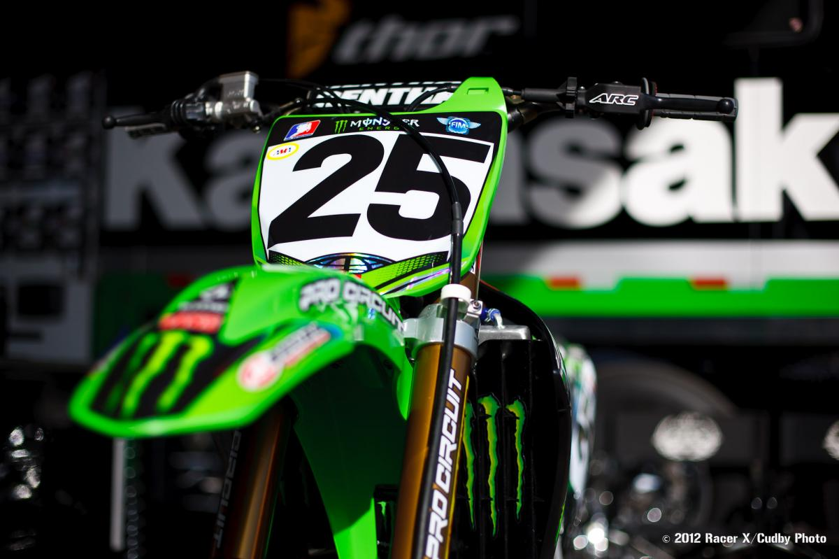 Broc Tickle's PC 450