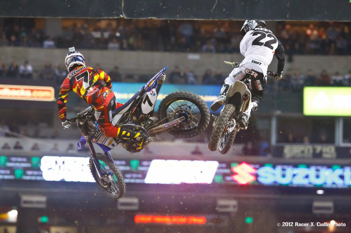 James Stewart and Chad Reed