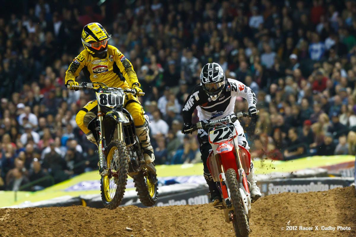 Mike Alessi and Chad Reed