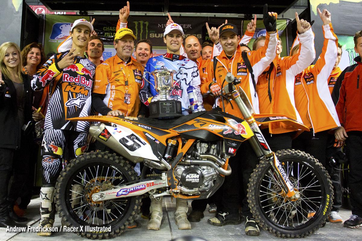 KTM's first SX win