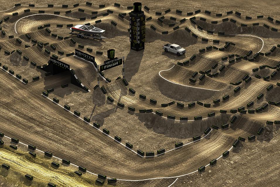 Los Angeles Track Wallpaper - Supercross - Racer X Online