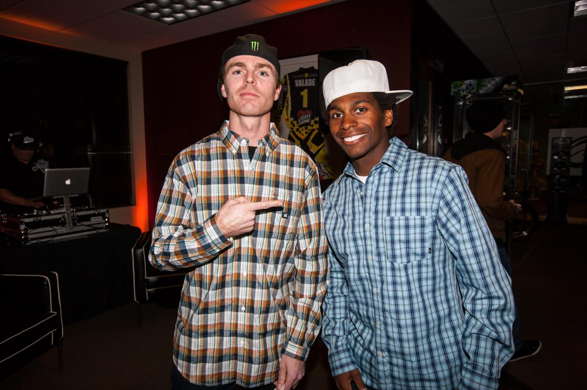 Nate Adams and James Stewart