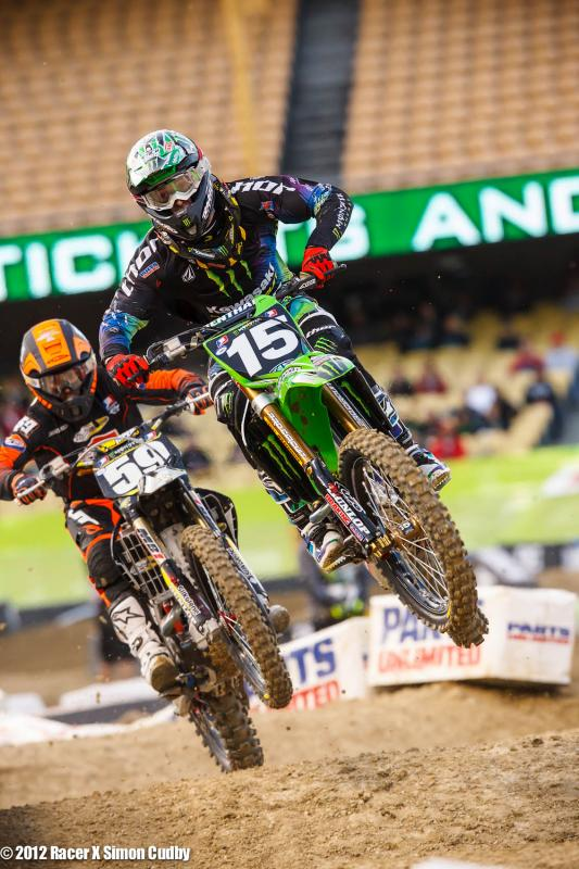 Dean Wilson (15) and Vince Friese (59)