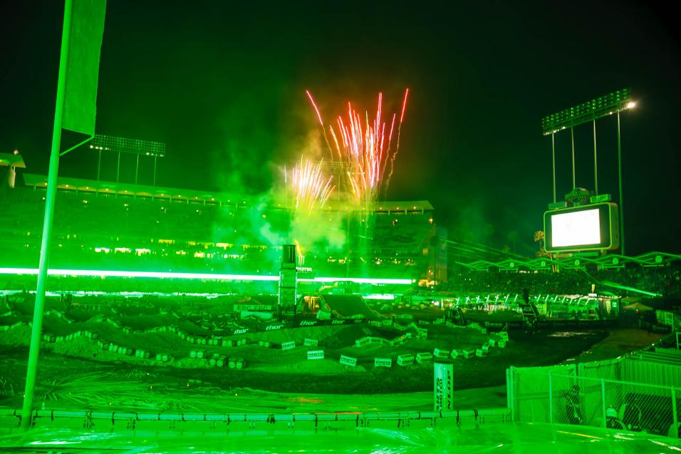 Race Report:  L.A. Supercross