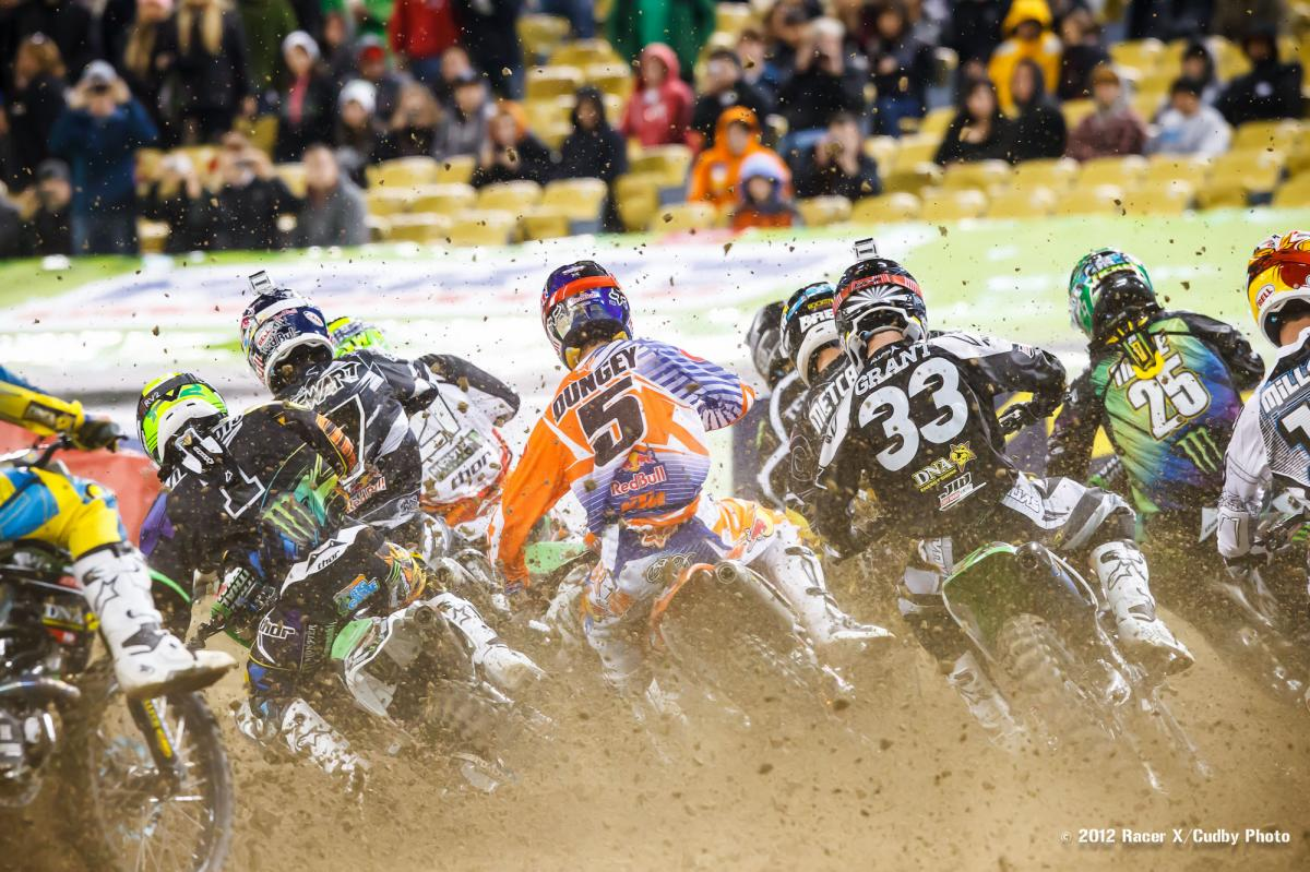 Supercross class start